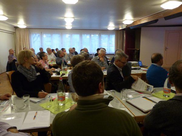 Ein interessiertes Publikum an der Fachtagung 2016 in Wattwil (SG).