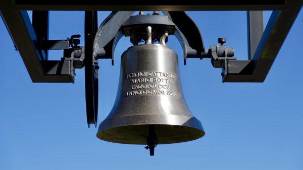 Glocke Capella Santa Maria Degli Angeli, Rivera/Lugano | © bell-2968941, suju, Pixabay CC0