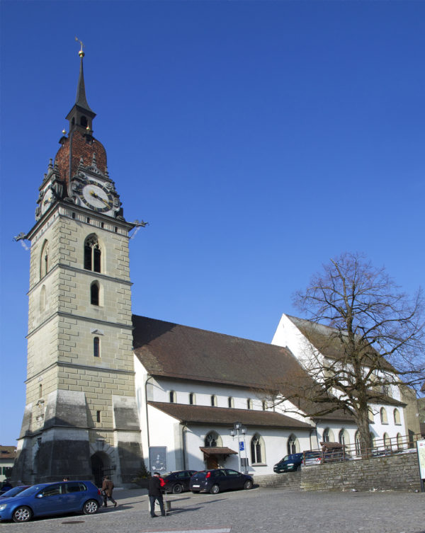 Die reformierte Stadtkirche Zofingen. (Foto: Claudio Minonzo/WMC)