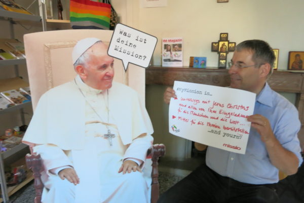 Was ist Deine Mission? Diese Frage will der Papst uns allen stellen. (Foto: zVg)