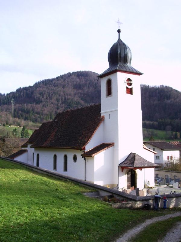L'église paroissiale de Vermes (JU). (Photo: màd)