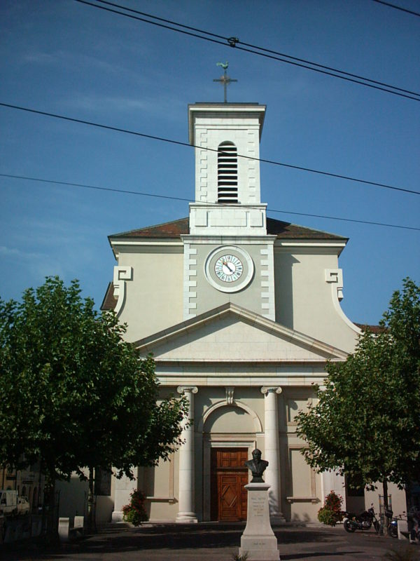 Pfarrkirche Heiligkreuz in Carouge (GE); l'église paroissiale Sainte-Croix à Carouge (GE); la chiesa parocchiale di Santa Croce a Carouge (GE)