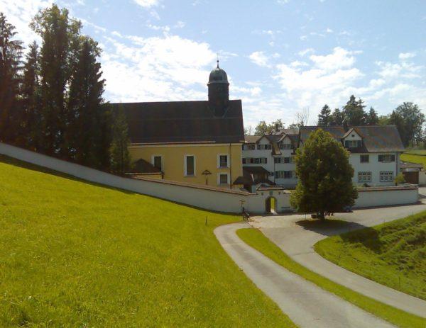 Klosterkirche Wonnenstein in Niederteufen (AI); l'église du couvent Wonnenstein à Niederteufen (AI); la chiesa del monastero Wonnenstein a Niederteufen (AI)
